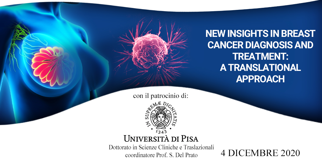 Course Image New insights in breast cancer diagnosis and treatment: a translational approach ID 309520