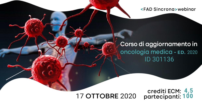 Course Image Corso di aggiornamento in Oncologia Medica