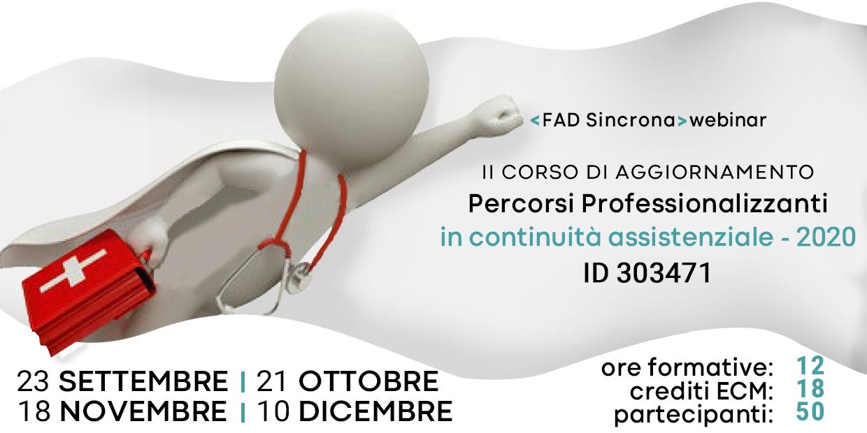 Course Image II° Corso di Aggiornamento Percorsi Professionalizzanti in Continuità Assistenziale ID 303471