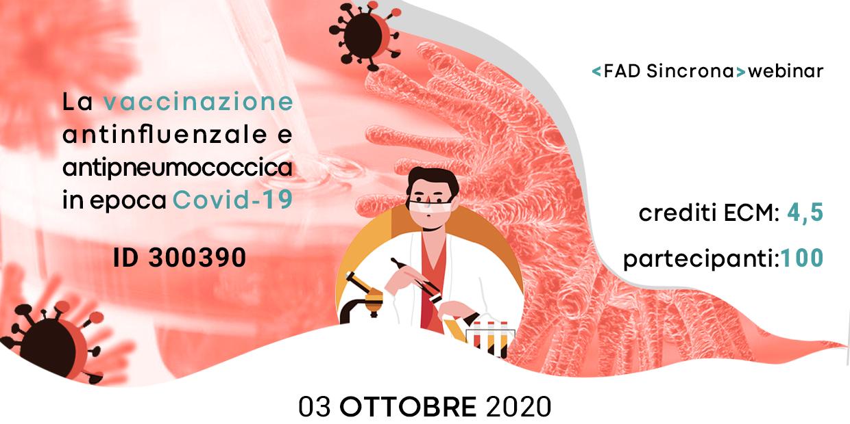 Course Image La vaccinazione antinfluenzale e antipneumococcica in epoca Covid-19